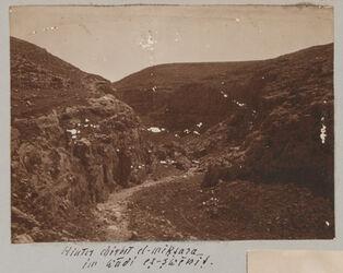 Fotoalbum Hinter chirbet el miktara im wadi es-swenit.