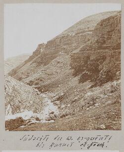 Fotoalbum Südseite des w. [wadi] es-swenit bis kurnet edg-gesch [edj-djesch, edsch-dschesch].
