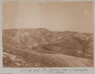 Fotoalbum Blick auf die Gegend von el-muntar v. Süden.