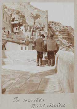 Fotoalbum In marsaba. Riedel, Schwöbel.