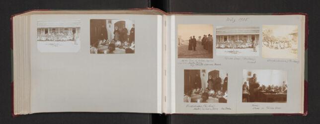 Fotoalbum März 1905
