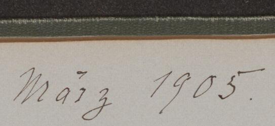 GDIs01242; Fotoalbum; März 1905, Album Gustaf Dalman, 1903-05, Blatt 27 Rückseite bis 28 Vorderseite [Einzelbilder: GDIs01243-GDIs01249]