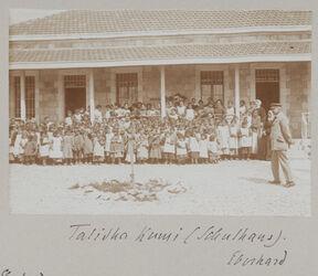 Fotoalbum Talitha Kumi (Schulhaus). Eberhard [Jerusalem]