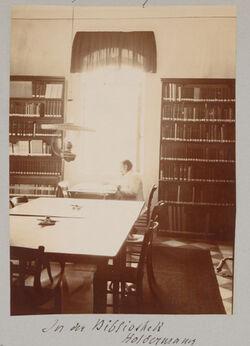 Fotoalbum In der Bibliothek Holdermann [Palästinainstitut, Jerusalem]