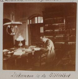 Fotoalbum Zickermann in der Bibliothek [Palästinainstitut, Jerusalem]