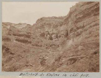 Fotoalbum Unterhalb des Klosters [Choziba] im wadi kelt.