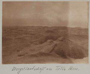 Fotoalbum Mergellandschaft am Toten Meer.