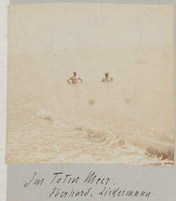 Fotoalbum Im Toten Meer. Eberhard, Zickermann.