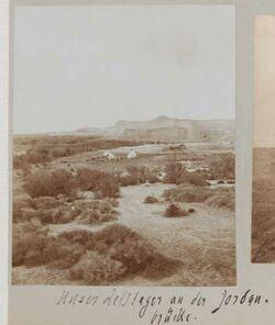 Fotoalbum Unser Zeltlager an der Jordanbrücke [gisr el-megami].