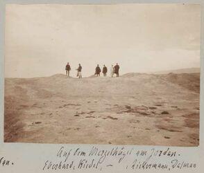 Fotoalbum Auf dem Mergelhügel am Jordan. Eberhard, Ridel, -, Zickermann, Dalman