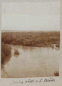 Fotoalbum Jordan nördl. v. d. Brücke [Jordanbrücke, gisr el-megami].