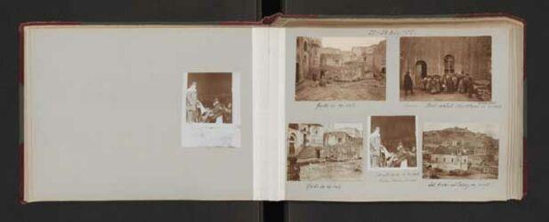 Fotoalbum 21. - 24. März 1905.