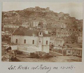 Fotoalbum Lat. Kirche und Festung von es-salt [es-salt].