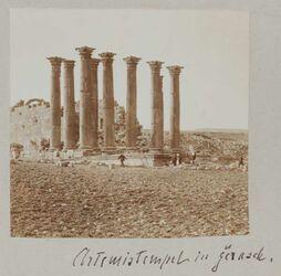 Fotoalbum Artemistempel Gerasch [Djerasch, Dscherasch, Gerasa].