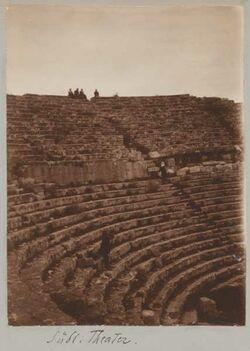 Fotoalbum Südl. Theater [Gerasa].