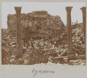 Fotoalbum Nymphaeum [Gerasa].