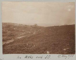 Fotoalbum Von Mkes nach SO. 27. März 1905