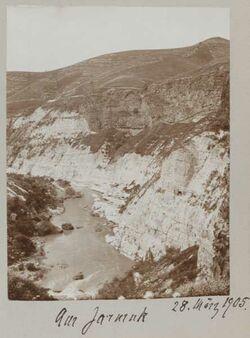 Fotoalbum 28. März 1905. Am Jarmuk