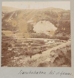 Fotoalbum Eisenbahnbau bei el-hamme.