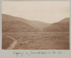 Fotoalbum Ausgang des Jarmuk-Tales in das ror.