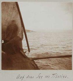 Fotoalbum Auf dem See von Tiberias [See Genezareth].