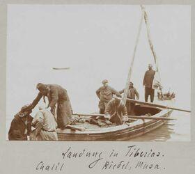 Fotoalbum Landung in Tiberias. Chalil Riedel, Mousa.