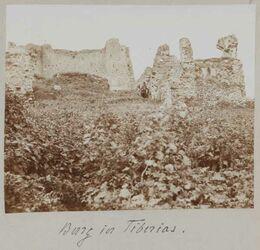Fotoalbum Burg in Tiberias.