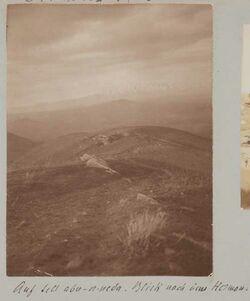Fotoalbum Auf tell abu-n-neda. Blick nach dem Hermon.