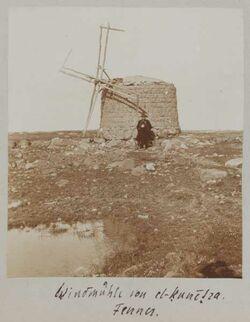 Fotoalbum Windmühle von el-kunetra. Fenner.