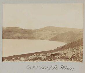 Fotoalbum birket ran (See Phiala) [Birket ram?].