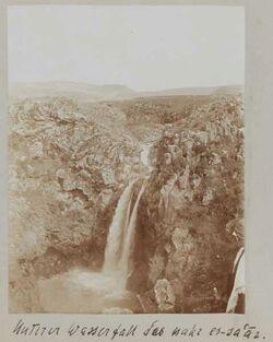 Fotoalbum Unterer Wasserfall des nahr es-sa