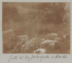 Fotoalbum Grotte bei der Jordanquelle in banias [banyas].