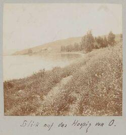 Fotoalbum Blick auf das Hospiz [wohl in Meron] von O.