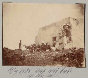 Fotoalbum 19/4 1906 Auf nebi dahi bei dim [dem?] weli [?]