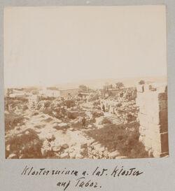 Fotoalbum Klosterruinen u. lat. Kloster auf Tabor.
