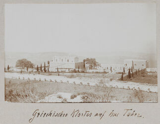 Fotoalbum Griechisches Kloster auf dem Tabor.