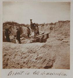 Fotoalbum Arbeit in Tell el-Mutesellim [Megiddo].