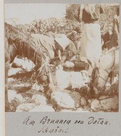 Fotoalbum Am Brunnen von Dotan [Dothan]. Schwöbel.
