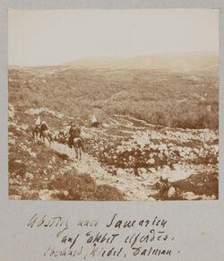Fotoalbum Abstieg von Samarien auf