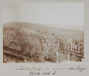 Fotoalbum Säulenstrasse in Sebastie vom Berge. Blick nach S.