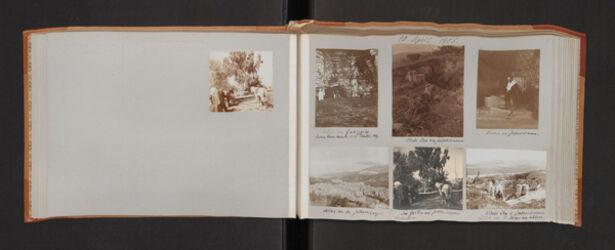 Fotoalbum 10. April 1905.