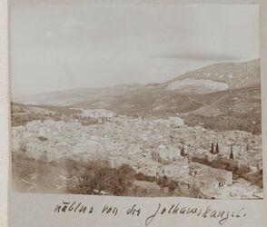 Fotoalbum nablus von der Johanneskanzel.