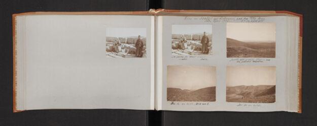 Fotoalbum Reise von Schwöbel und Zickermann nach dem Toten Meer. Ende April 1905. 8.-12. April 1905
