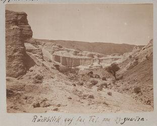 Fotoalbum Rückblick auf das Tal von ez-zuwera [mizpe zohar]