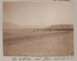 Fotoalbum ras el-hisch und gebel sudunsm [dschebel, dschebel] v. N.