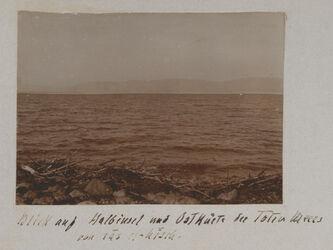 Fotoalbum Blick auf Halbinsel und Ostküste des Toten Meers von ras el-hisch.