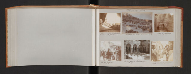 Fotoalbum Frühjahr 1905.