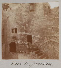 Fotoalbum Haus in Jerusalem.