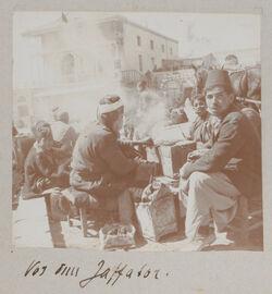 Fotoalbum Vor dem Jaffator [Jerusalem].