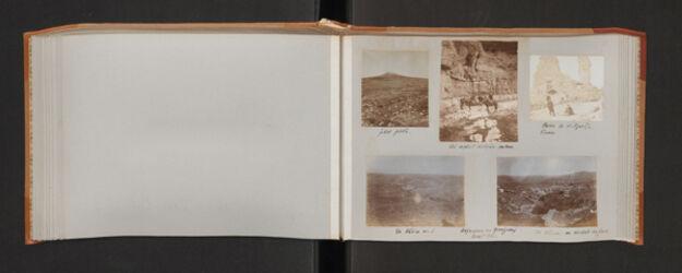 Fotoalbum Aufnahmen von Pfennigsdorf Herbst 1903.